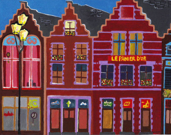Bruges Shopfront - Jane Kelly