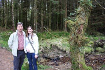 Jane and Dad Glencoe