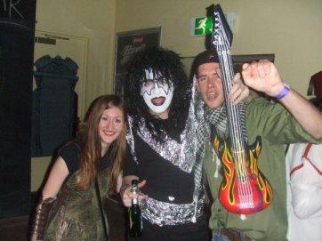 Jane, Gary and Craig on Halloween 2009