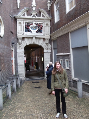 Jane in Amsterdam
