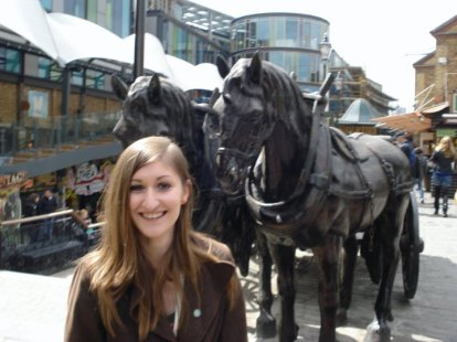 Jane with horses