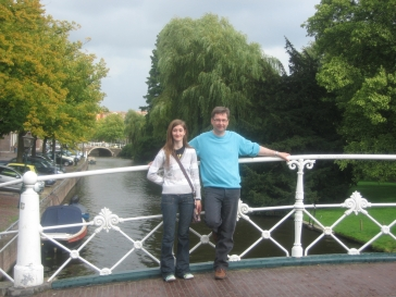 Jane and Dad bridge