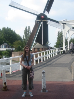 Jane and windmill