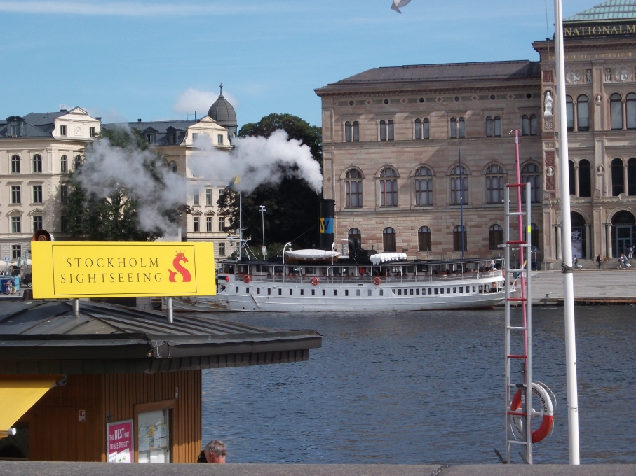 Ferry in Stockholm - picture taken by Jane in 2011